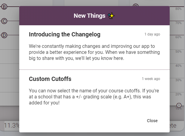 Introducing the Changelog