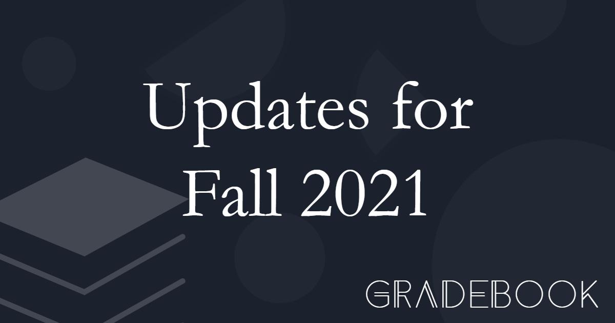 🌟New Semester, New Features